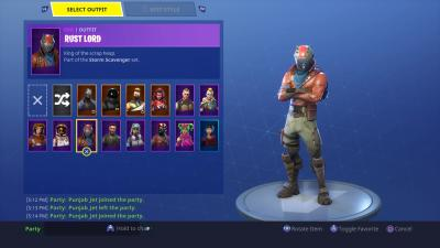 Fortnite Rust Lord Skin HD Wallpaper 64382