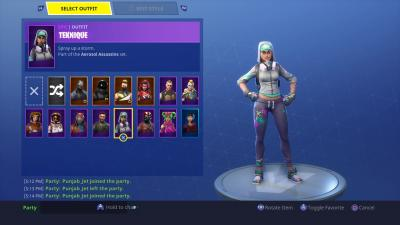 Fortnite Teknique Skin HD Wallpaper 64381