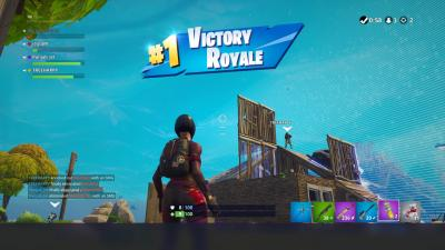 Fortnite Victory Royale Desktop Wallpaper 64827