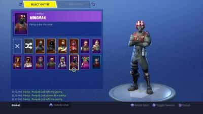Fortnite Wingman Skin HD Wallpaper 64380