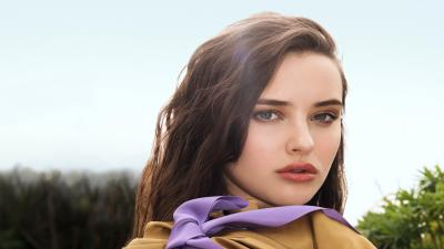 Katherine Langford Celebrity Face Wallpaper Background 64020