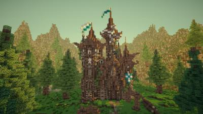 Minecraft Castle Wallpaper 62681