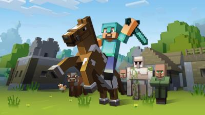 Minecraft Characters Desktop Wallpaper 62682