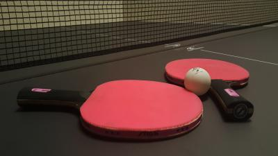 Table Tennis Paddles Widescreen Wallpaper 64913