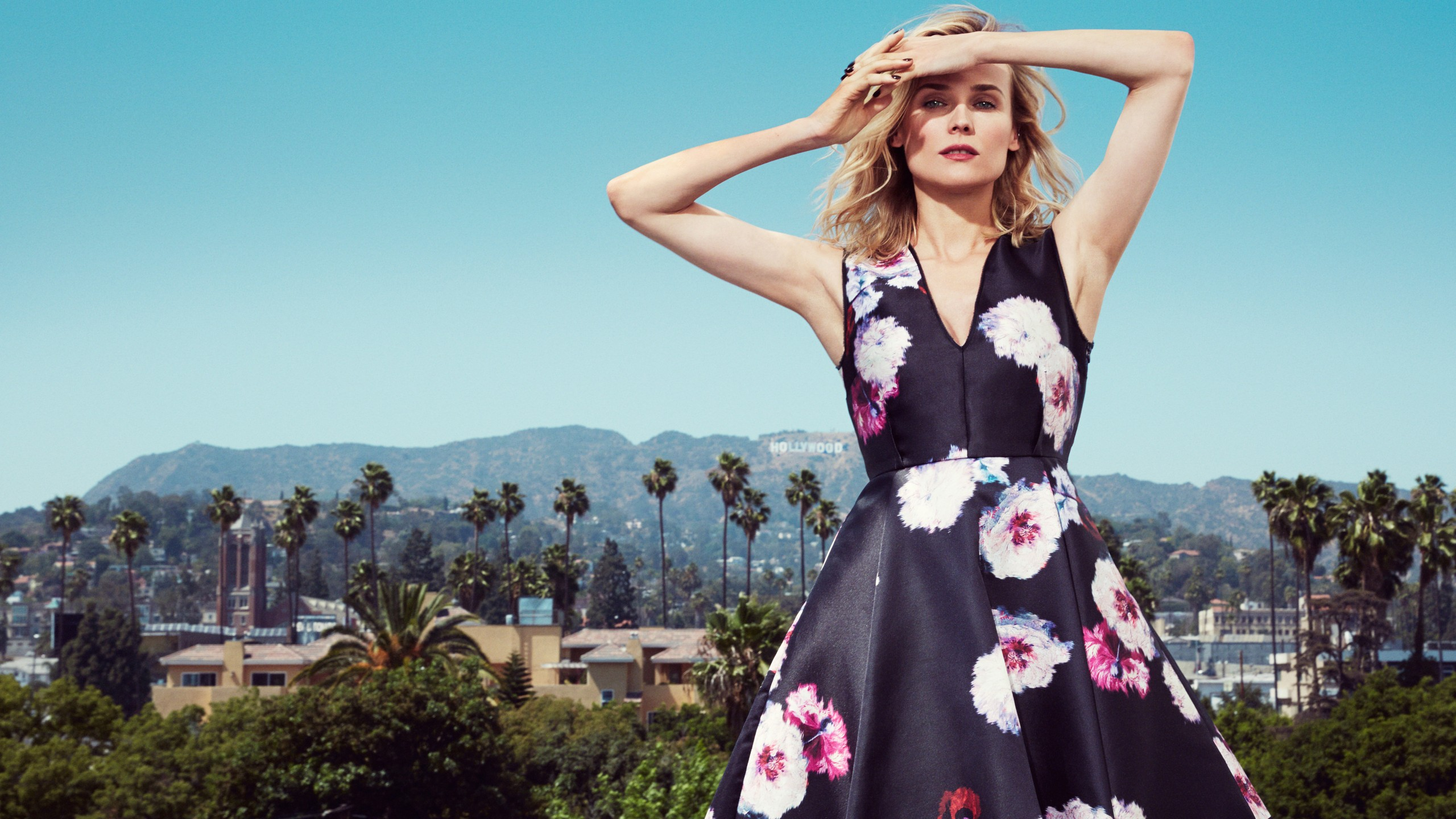 diane kruger dress wallpaper background 63349