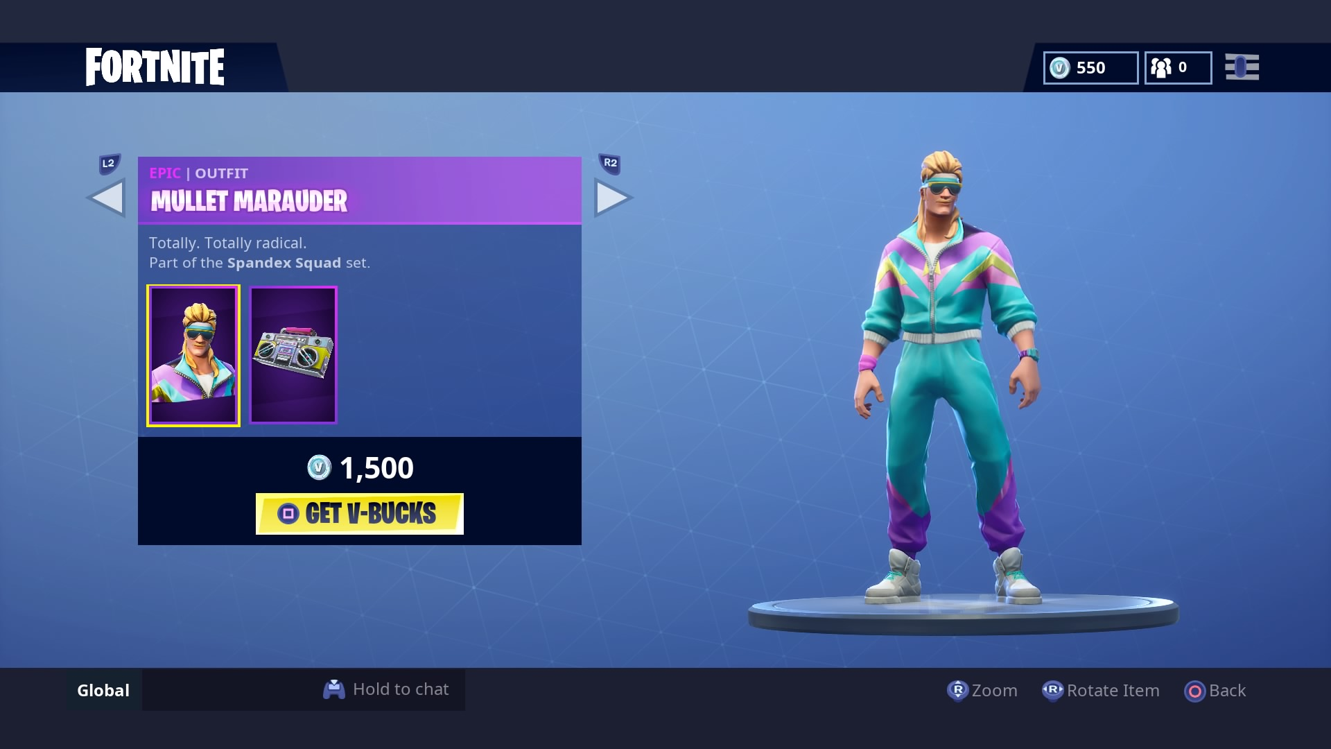 fortnite mullet marauder wallpaper 64857