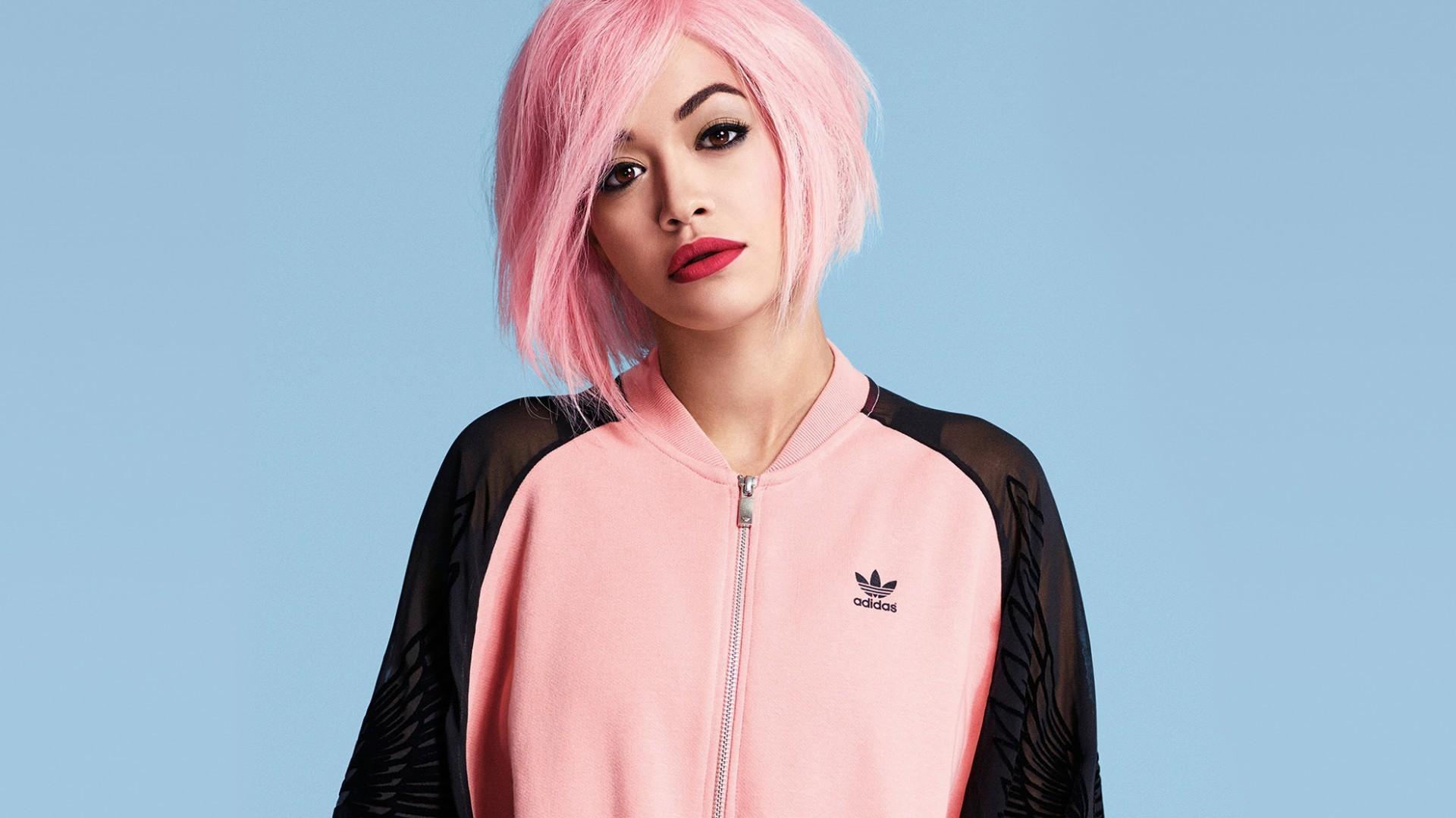 rita ora pink hair images wallpaper 64605