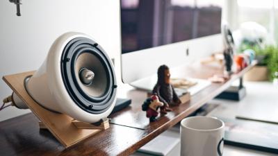 Computer Speakers Widescreen Wallpaper 62880