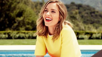 Emily Blunt Smile Wallpaper 63344