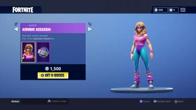 Fortnite Aerobic Assassin Wallpaper 64855