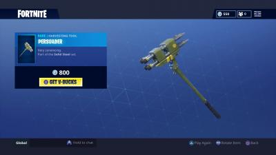 Fortnite Persuader Wallpaper 64875