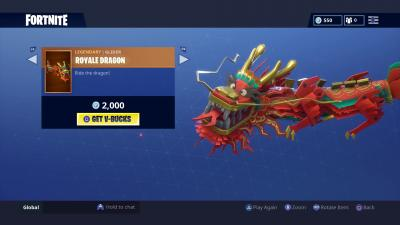 Fortnite Royale Dragon Glider Wallpaper 64866