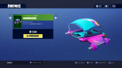 Fortnite Windbreaker Glider Wallpaper 64865