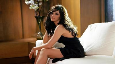 Katharine McPhee Black Dress Pictures Wallpaper 64803