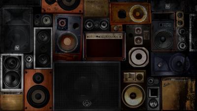 Speakers Wallpaper Background 62881