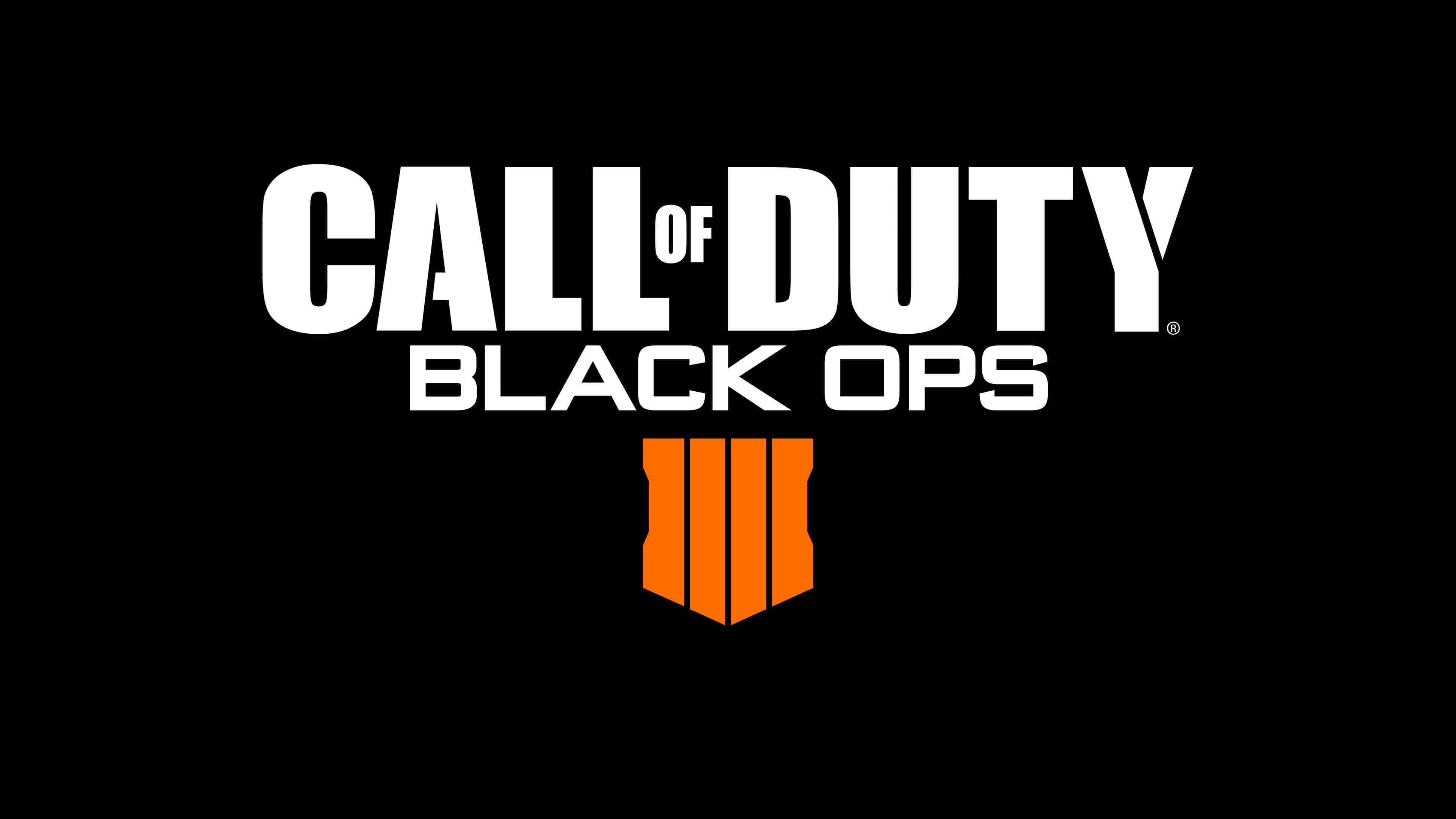 black ops 4 logo background wallpaper 65187