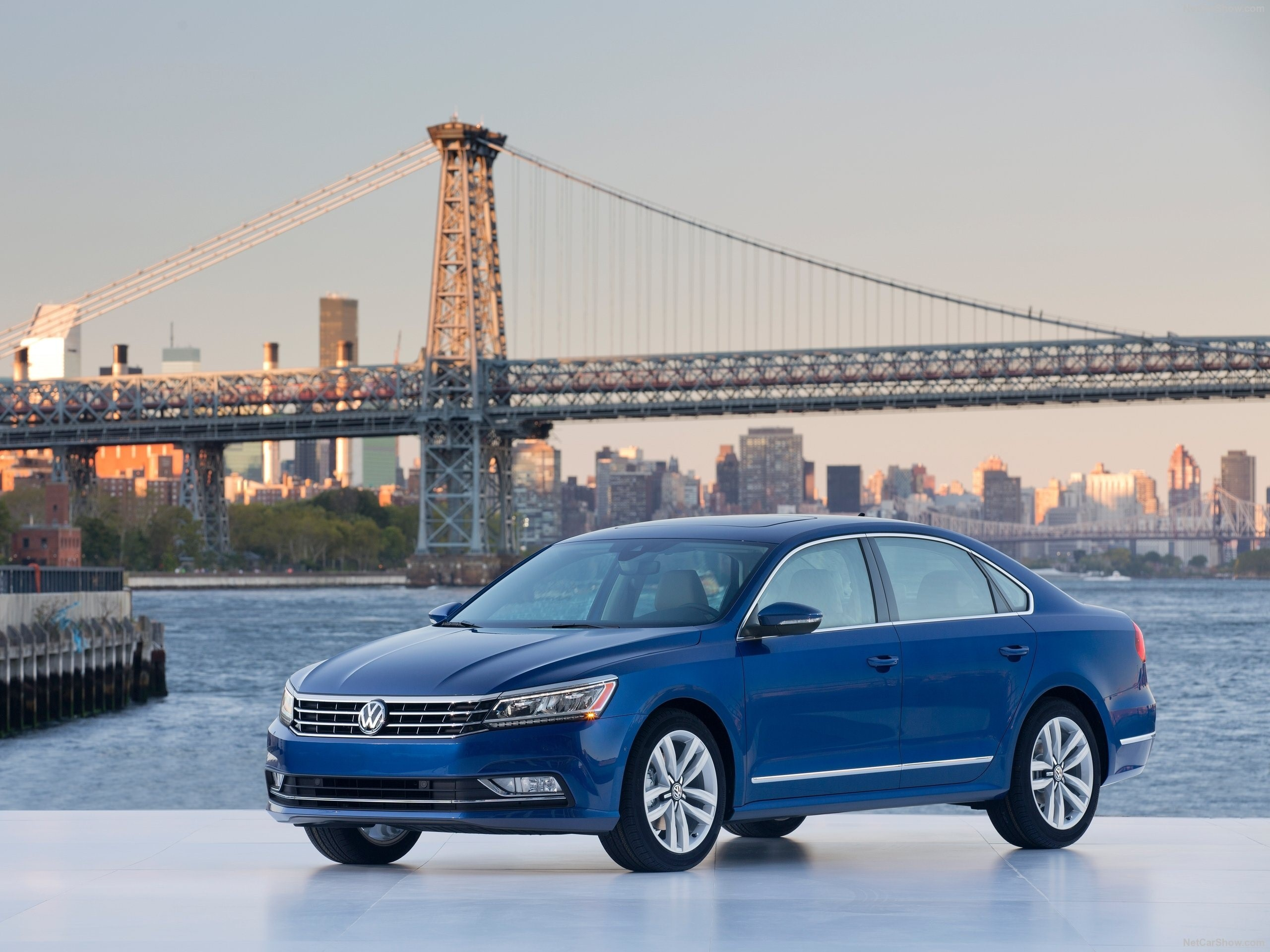 blue volkswagen passat wallpaper 65878