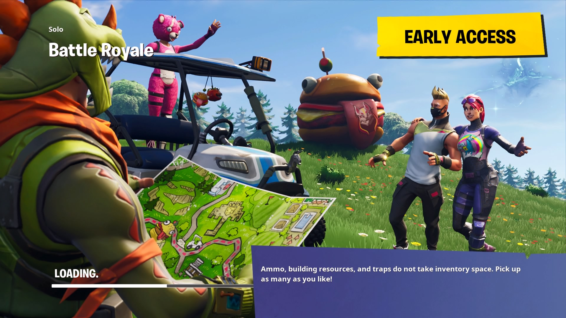 fortnite battle royale loading screen wallpaper 65189