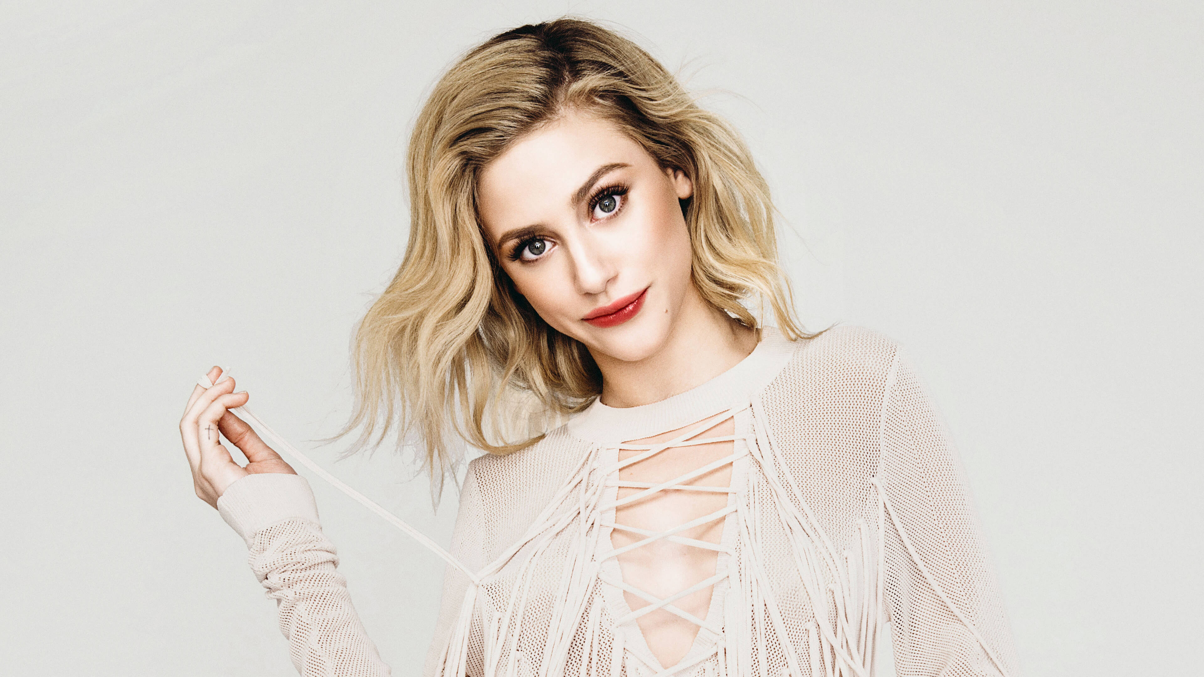 lili reinhart makeup hd wallpaper 63296