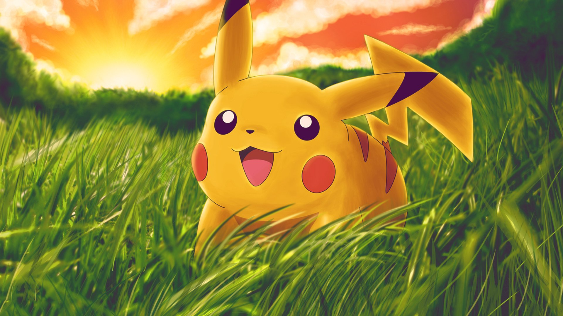 pikachu desktop hd wallpaper 64927