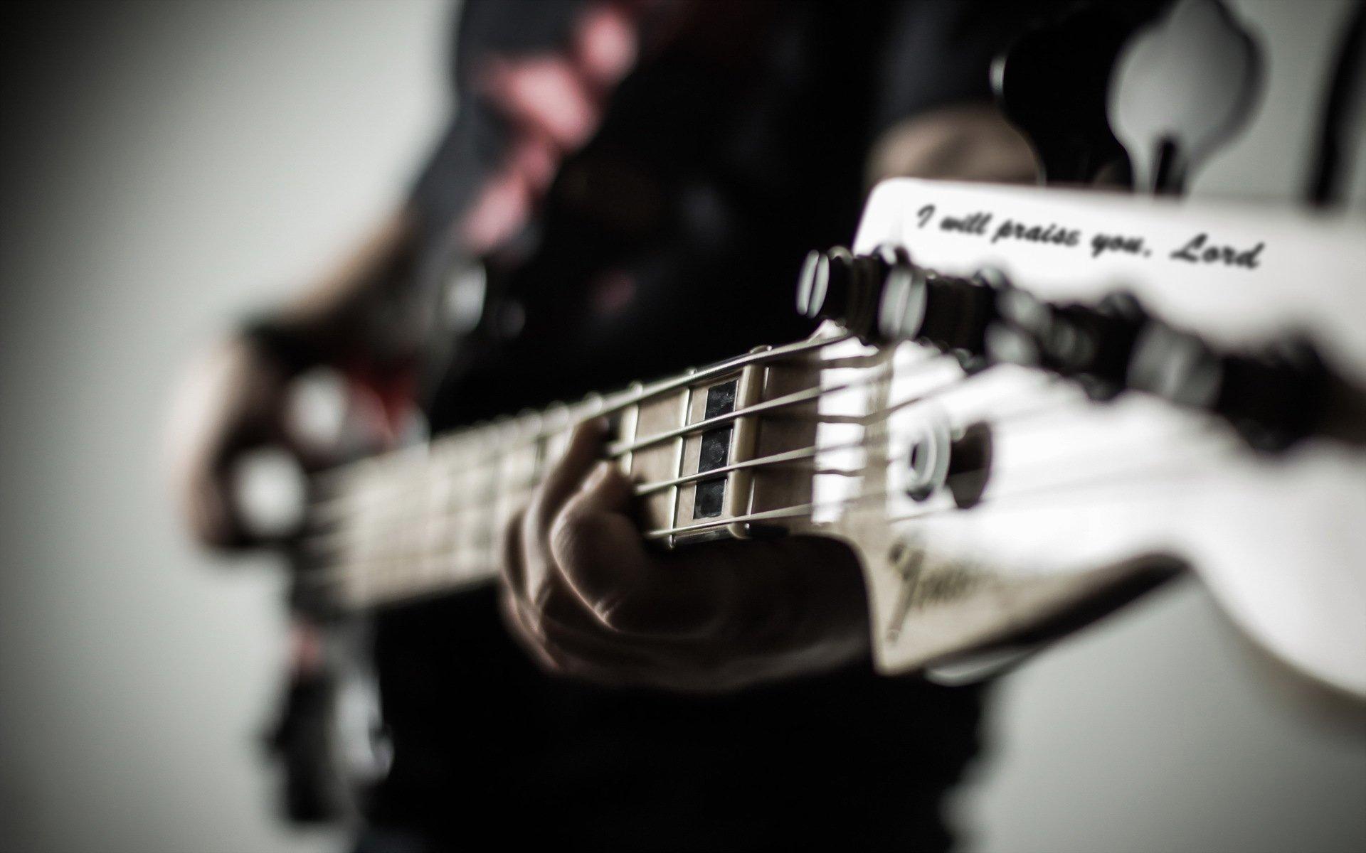 playing bass guitar wallpaper 63159