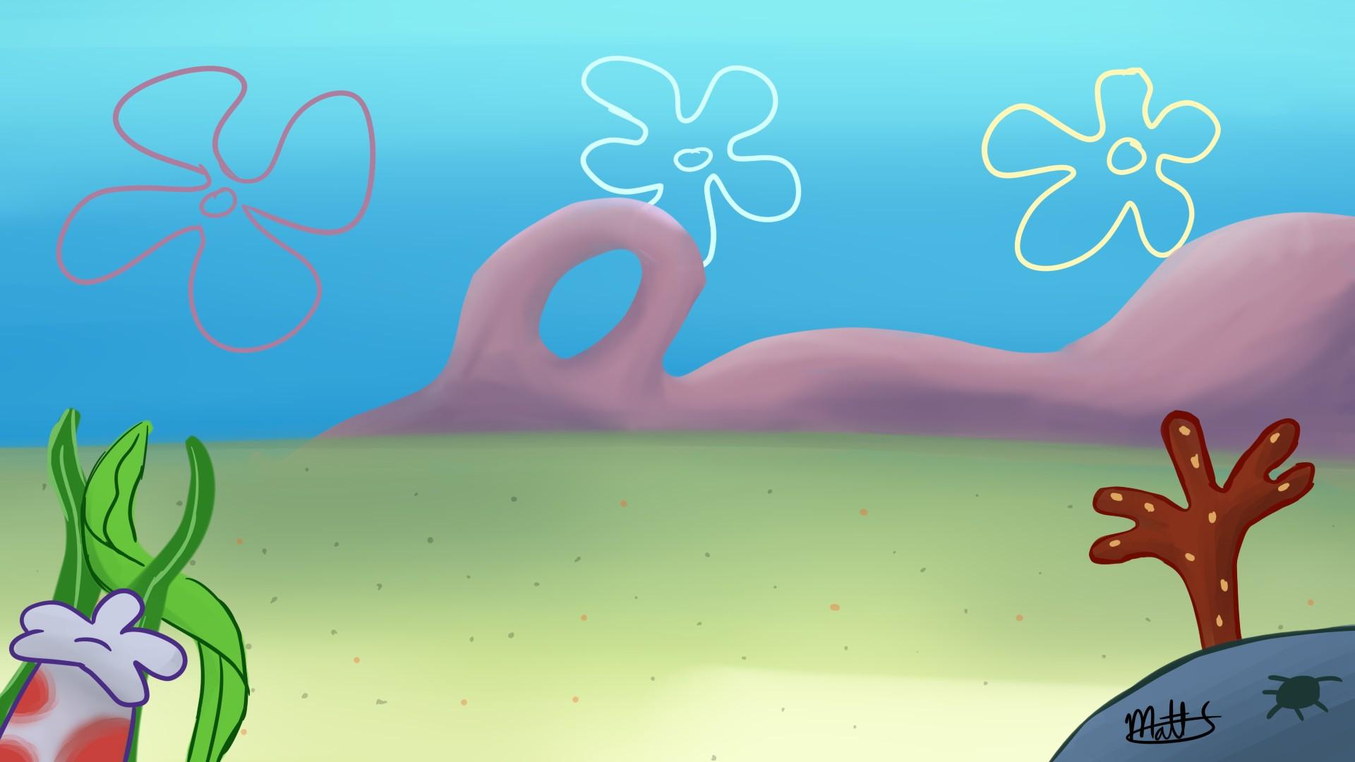 spongebob bikini bottom wallpaper 63311
