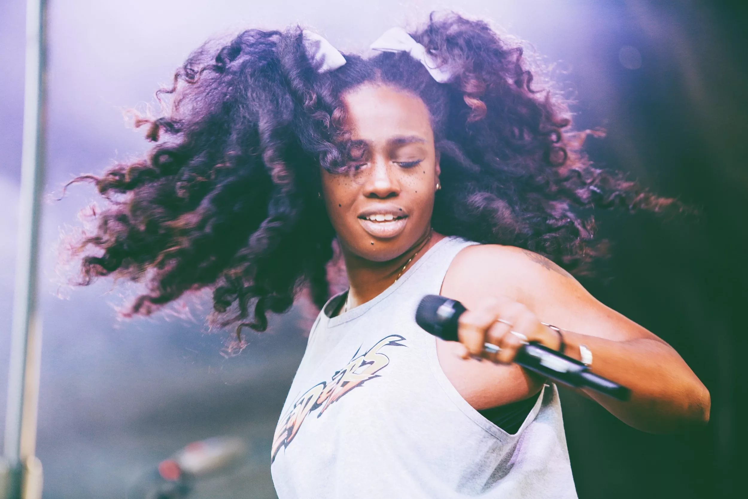 sza performing wallpaper background 64108