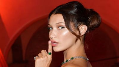 4K Bella Hadid Model Widescreen Wallpaper 63285