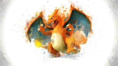 Abstract Pokemon Charizard Wallpaper 64934