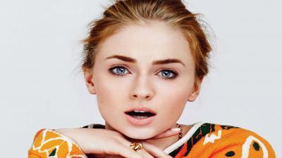 Beautiful Sophie Turner Face Wallpaper 63309