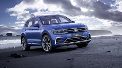 Blue Volkswagen Tiguan Pictures Wallpaper 65859