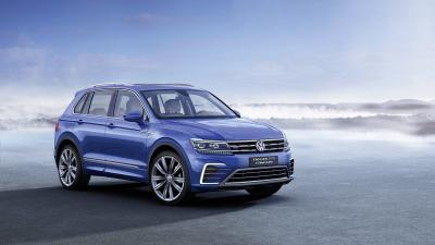 Blue Volkswagen Wide Tiguan Wallpaper 65852