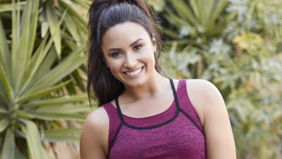 Demi Lovato Workout Gear Wallpaper 64542