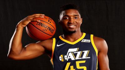 Donovan Mitchell Smile Wallpaper 63620