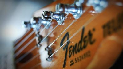 Fender Guitar Up Close Wallpaper 63160
