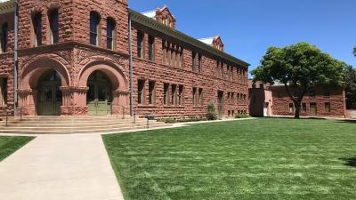 Flagstaff Arizona Courthouse Downtown Wallpaper Background 64239