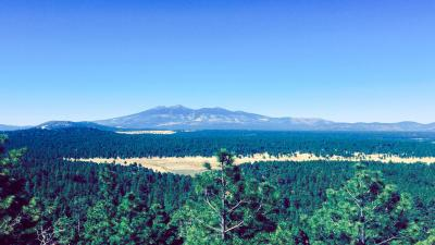 Flagstaff Arizona Overview Wallpaper Background 64238