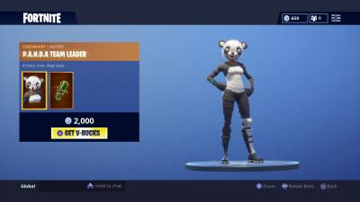 Fortnite Panda Team Leader Wallpaper 65190