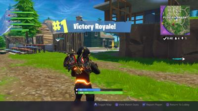 Fortnite Pleasant Park Victory Royale Wallpaper 63762
