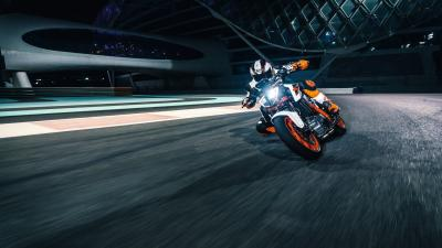 KTM Bike Rolling Shot Wallpaper 66460