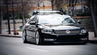 Lowered Volkswagen Passat Computer Wallpaper 65881
