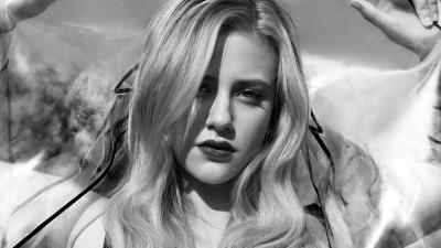 Monochrome Lili Reinhart Wallpaper Background 63297