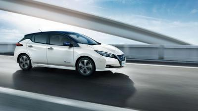 Nissan Leaf Rolling Shot HD Wallpaper 65968