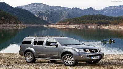 Nissan Pathfinder Lake Wallpaper 65985