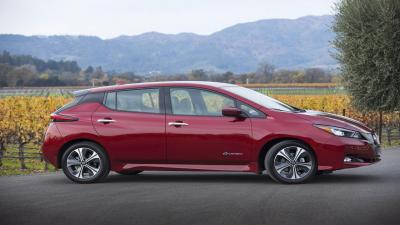 Red Nissan Leaf Wallpaper 65972