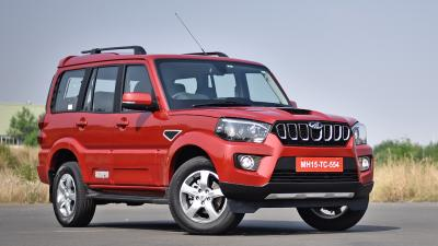 Red Scorpio Car Wallpaper 65961