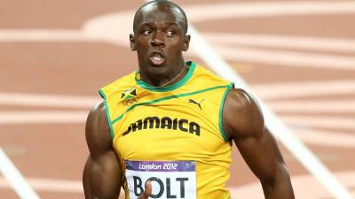 Usain Bolt Running Desktop HD Wallpaper 64566