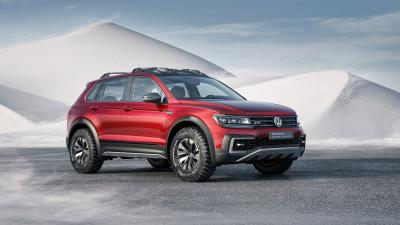 Volkswagen Tiguan Car HD Wallpaper 65855
