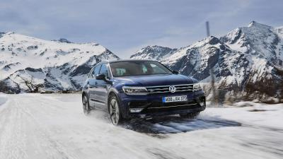 Volkswagen Tiguan Snow Wide Wallpaper 65863