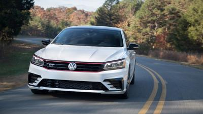 White Volkswagen Passat Wallpaper 65876